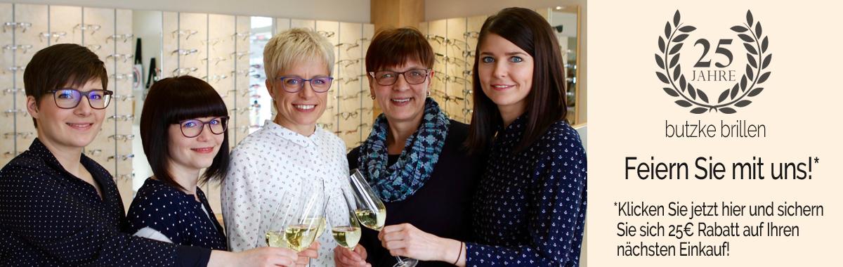 25 Jahre Jubiläum butzke brillen